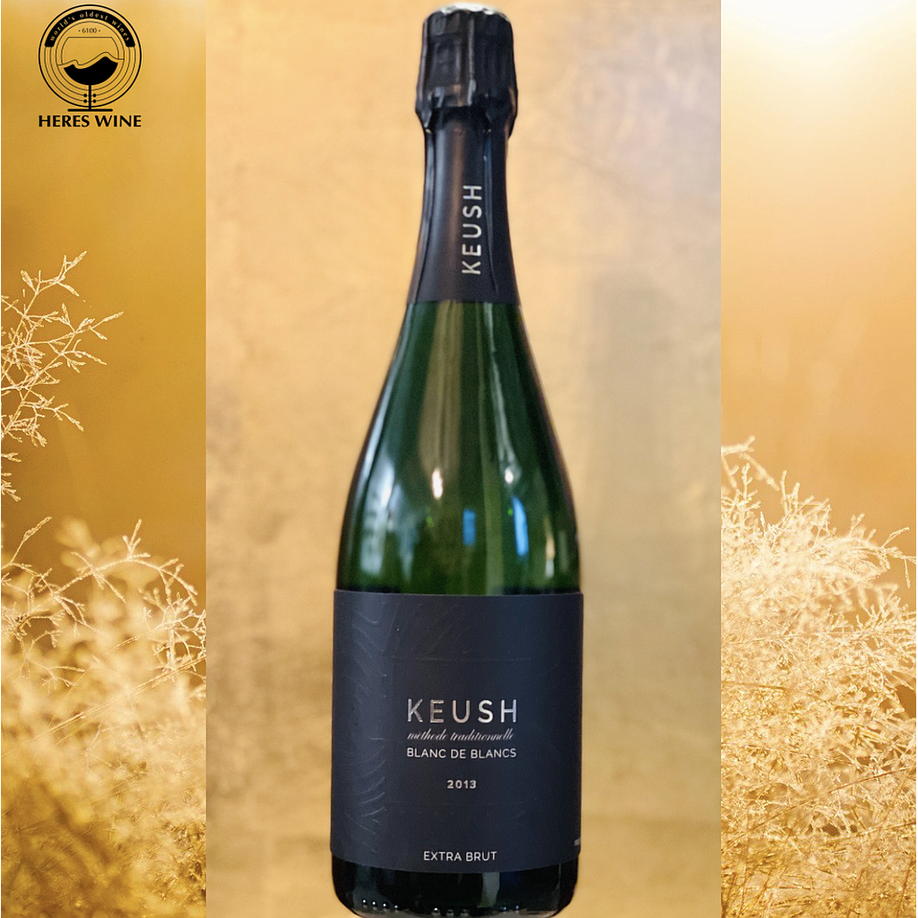 KEUSH BLANC de Blancs 2013 Brut Sparkling Wine méthode traditionnelle